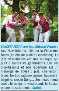 concert DIXIELAND PARADE