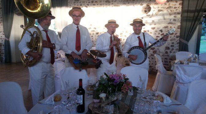 groupe de jazz mariage au Moulin Ste Agnès Landelles 28