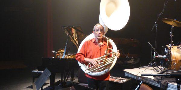 Préparation du concert de jazz