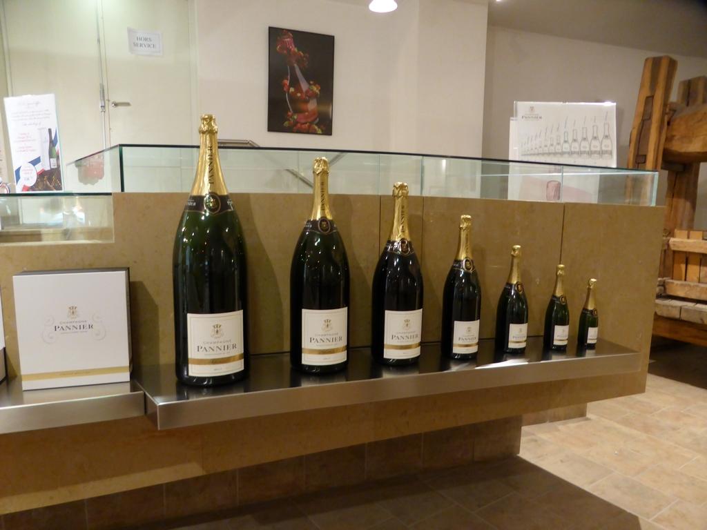 Champagne PANNIER, la gamme des bouteilles