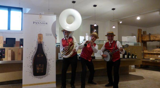 Groupe de jazz en Champagne, maison PANNIER