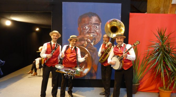 Groupe de jazz Louis armstrong