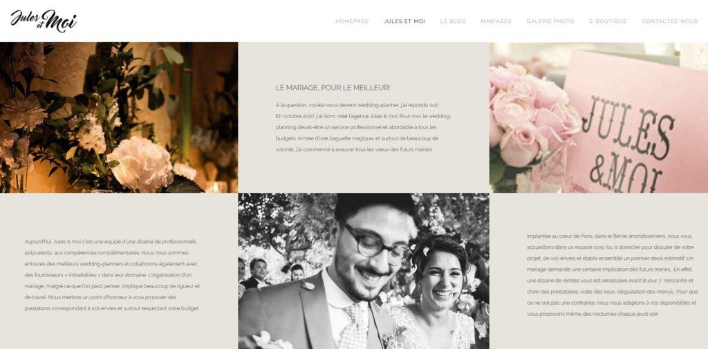 Agence wedding planner Jules et Moi