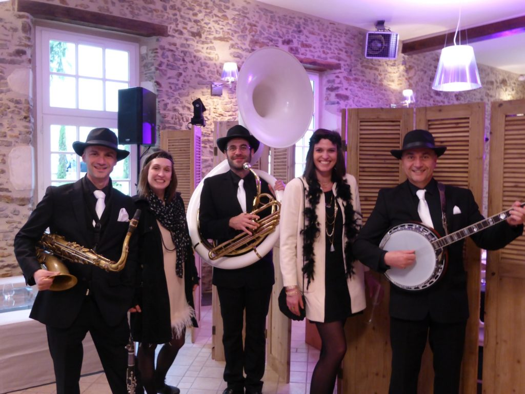 Orchestre mariage jazz new orleans