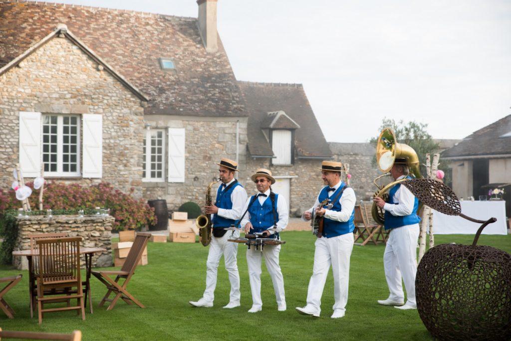 Groupe de jazz mariage - Les invités arrivent