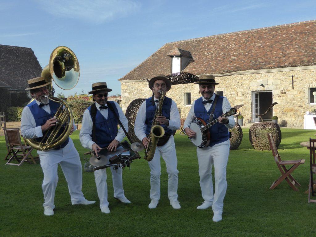 Jazz band de mariage - orchestre DIXIELAND PARADE