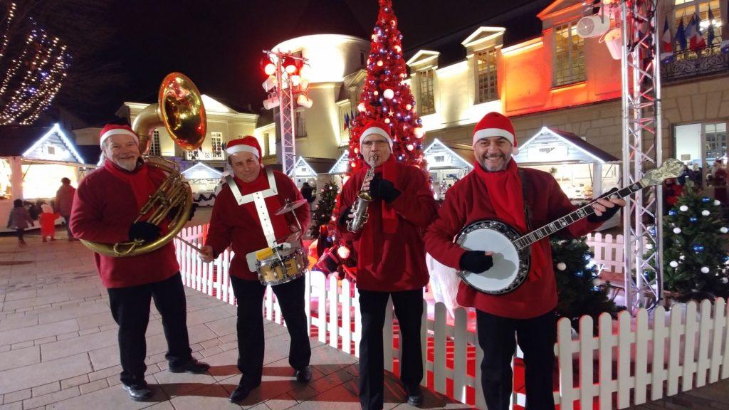 Jazz Band Dixieland Parade animation marche de Noel