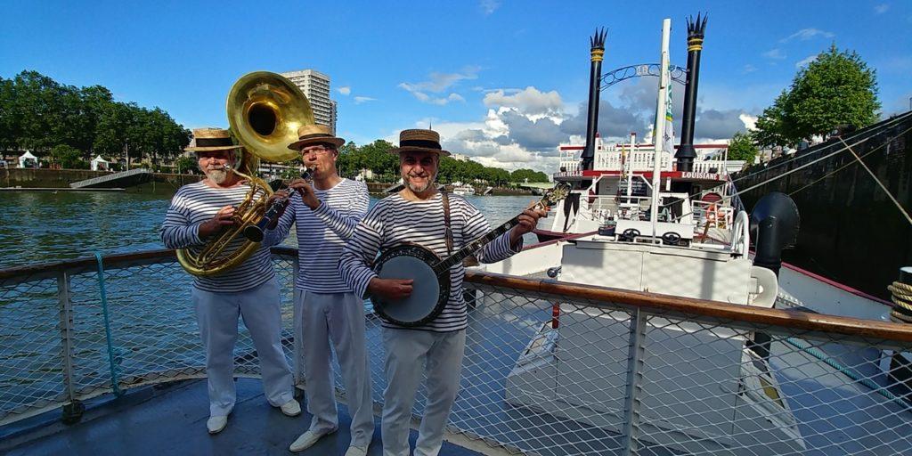 Orchestre et Jazz Band LES JAZZMARINIIERS