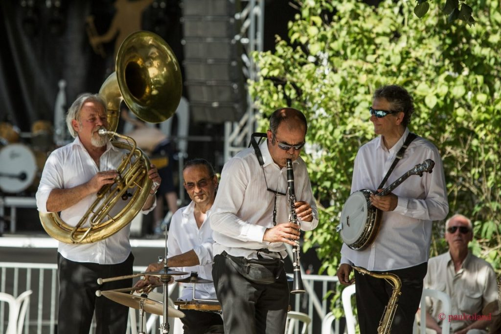 Groupe de jazz Paris Dixieland Parade en concert