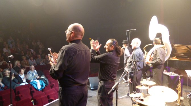 Le groupe DIXIELAND PARADE au festival jazz swing oasis de Chauny