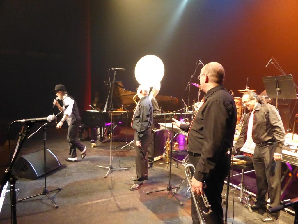 Le jazzband DIXIELAND PARADE et le pianiste Renaud PATIGNY au Festival jazz swing oasis de Chauny