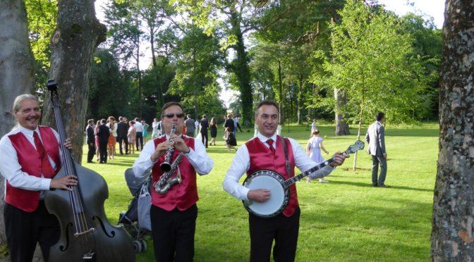 Groupe de jazz mariage domaine de Boissy-le-Bois