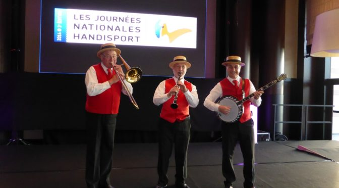 Groupe jazz gala handisport