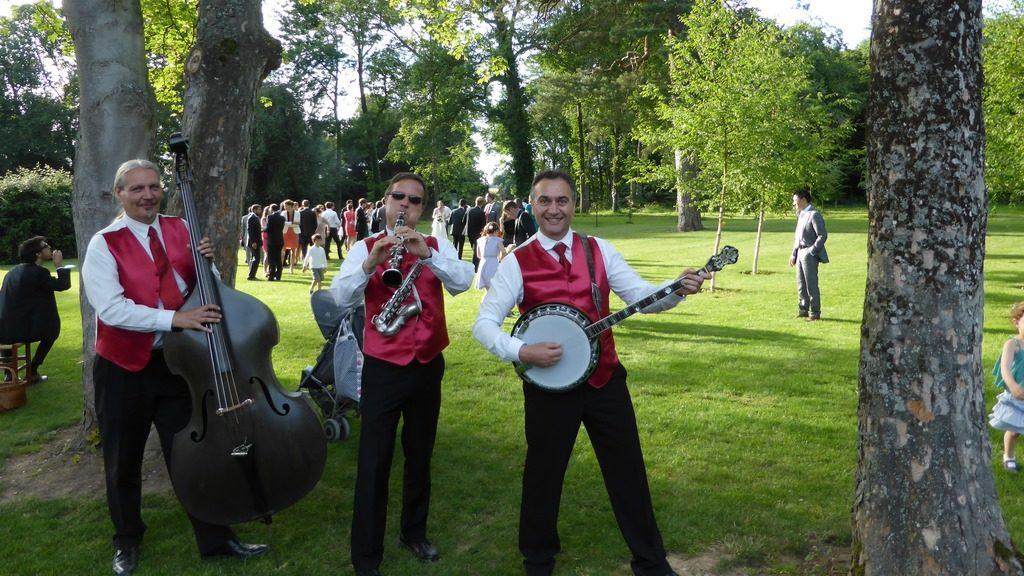 Orchestre jazz mariage au Domaine de Boissy-le-Bois
