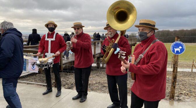 Groupe de jazz au parc de la fosse-Maussoin à Clichy-sous-Bois-93